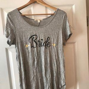 Bride 👰🏼 T-Shirt